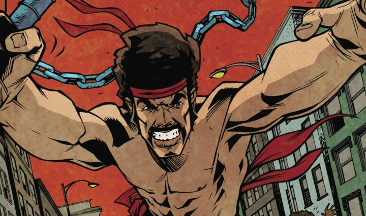 IDW black dynamite 1 review feature image