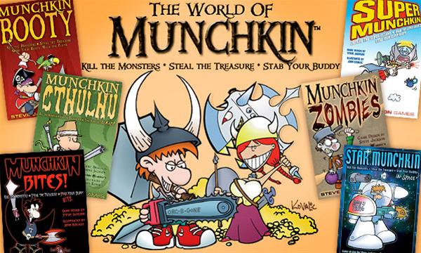 munchkin ongoing comic series