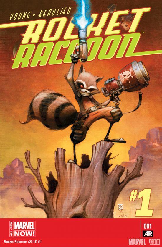 rocket racoon 1