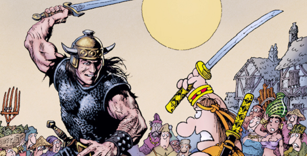 conan vs groo 1 preview