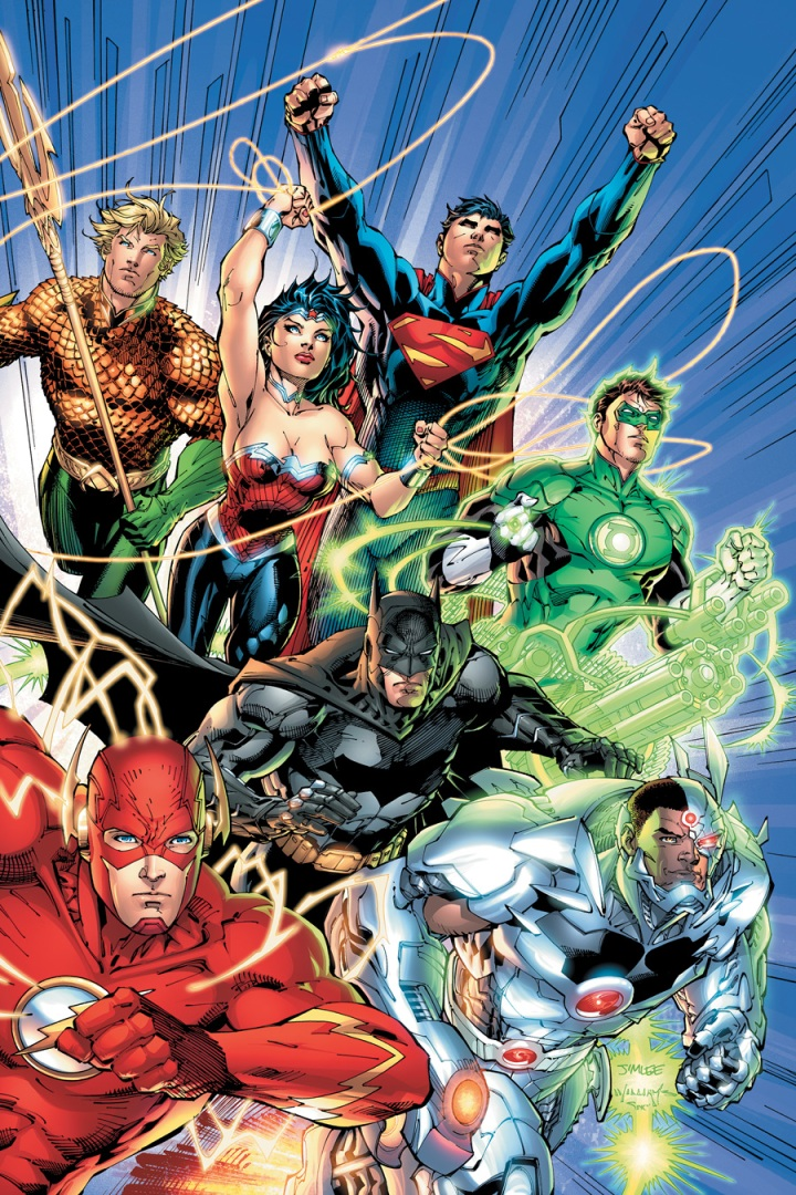 The Justice League in The New 52