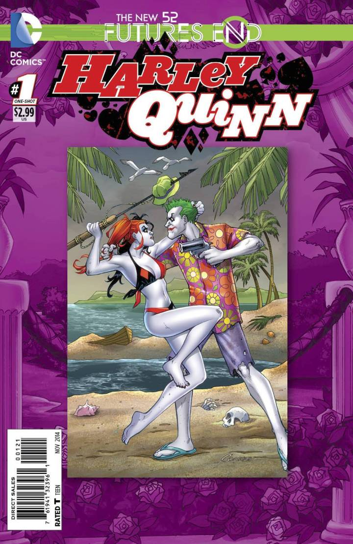 harley quinn futures end cover