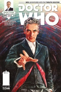 Doctor Who 12 Cover