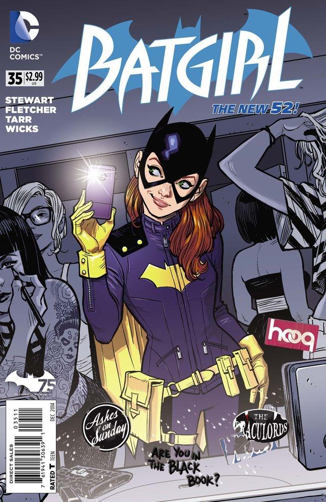 batgirl 35 cover