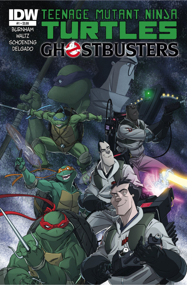 tmnt ghostbusters 1