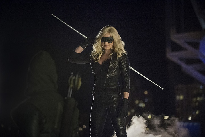 Caity Lotz Arrow The Calm