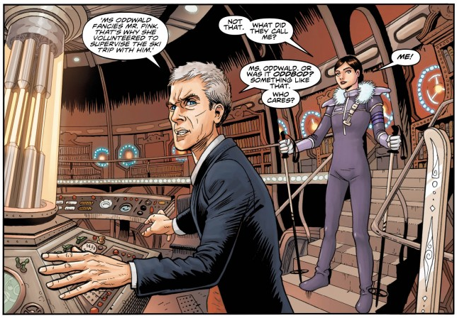 doctor who the 12th doctor interior 1