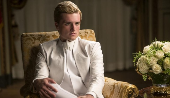 josh hutcherson hunger games mockingjay part 1