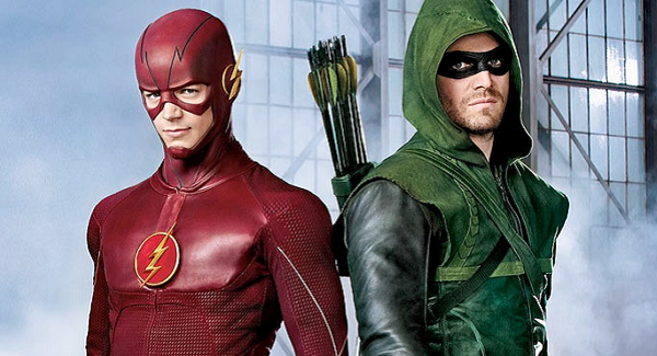 hangout flash arrow mid season finale