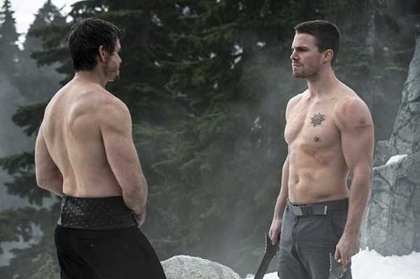 ras al ghul oliver queen arrow the climb
