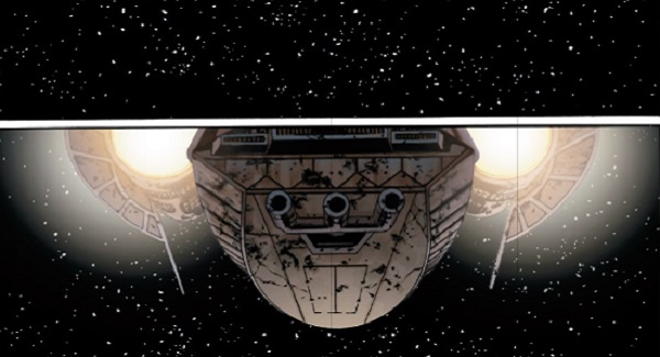 marvel star wars ship entering from above