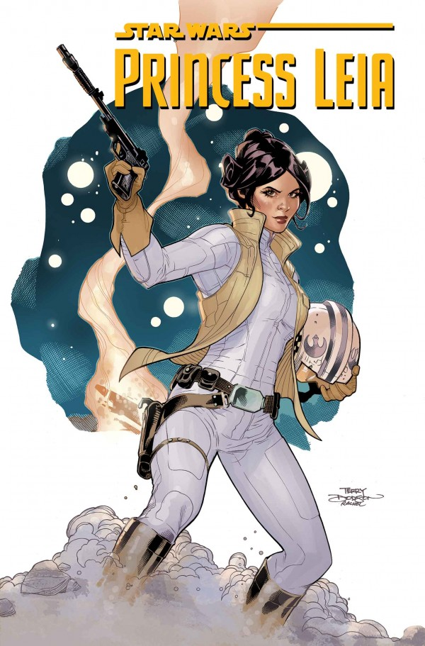 star wars princess leia comic 1