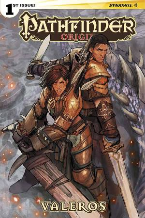PATHFINDER - ORIGINS #1/ Script by ERIK MONA /Art by TOM GARCIA/ Colors by MOHAN / Letters by MARSHALL DILLON / Published by DYNAMITE ENTERTAINMENT