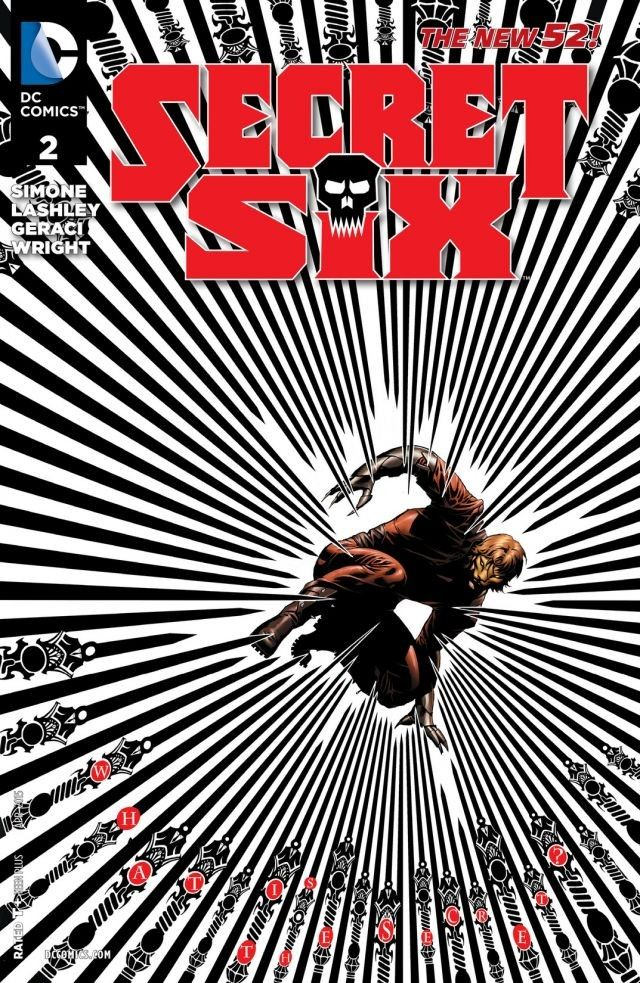 secret six 2 cover