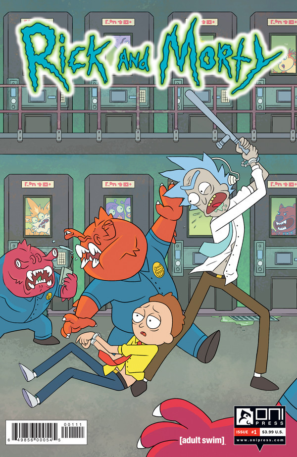 rick and morty 1 cvr
