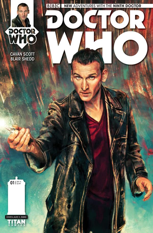 Doctor Who The Ninth Doctor 1 cvr