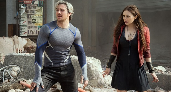 quicksilver scarlet witch avengers age of ultron review