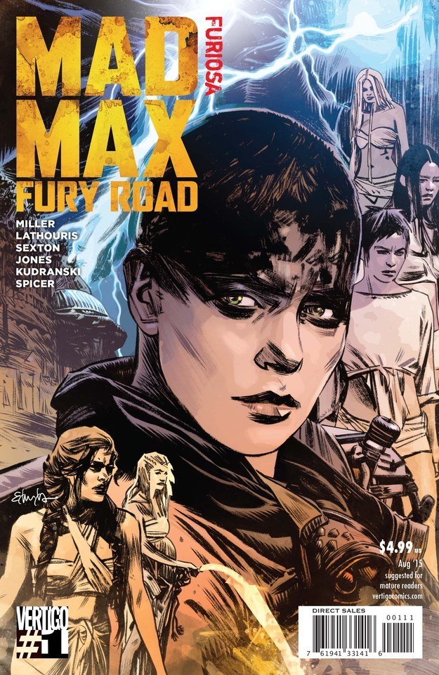 mad max fury road furiosa 1 cvr