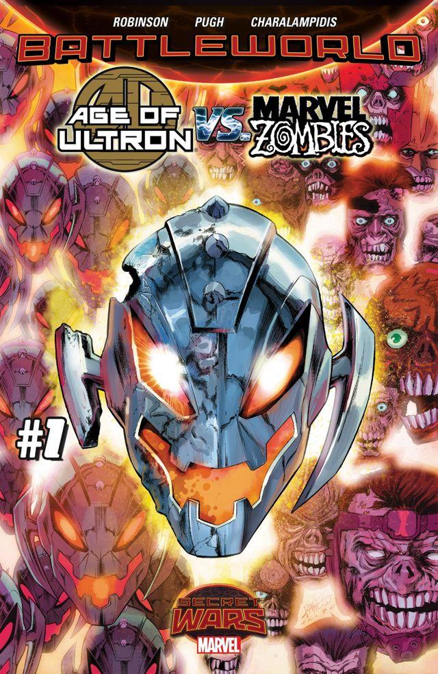 age of ultron vs marvel zombies 1 cvr