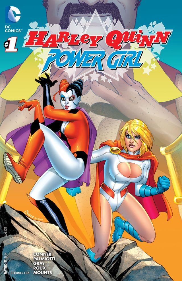 harley quinn power girl 1 cvr