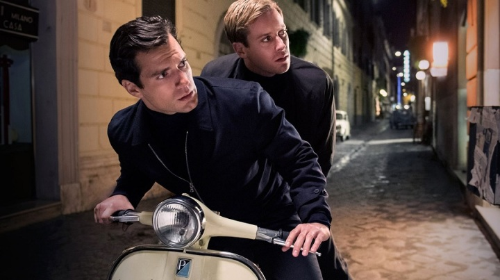 henry cavill armie hammer the man from u.n.c.l.e. review