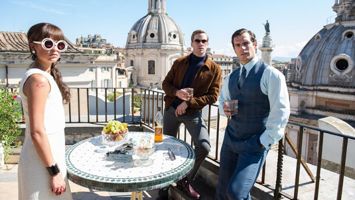 alicia vikander armie hammer henry cavill the man from u.n.c.l.e. review