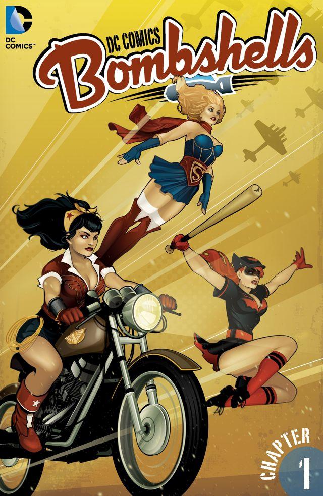 dc comics bombshells 1 cvr