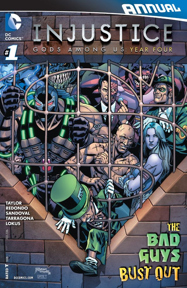injustice gods among us year four annual 1 cvr