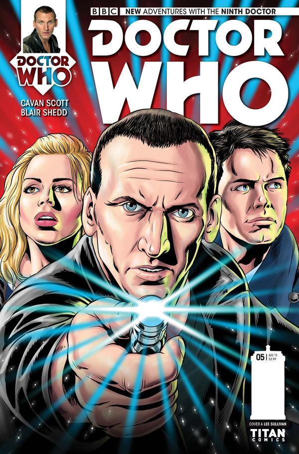 doctor who the ninth doctor 5 cvr