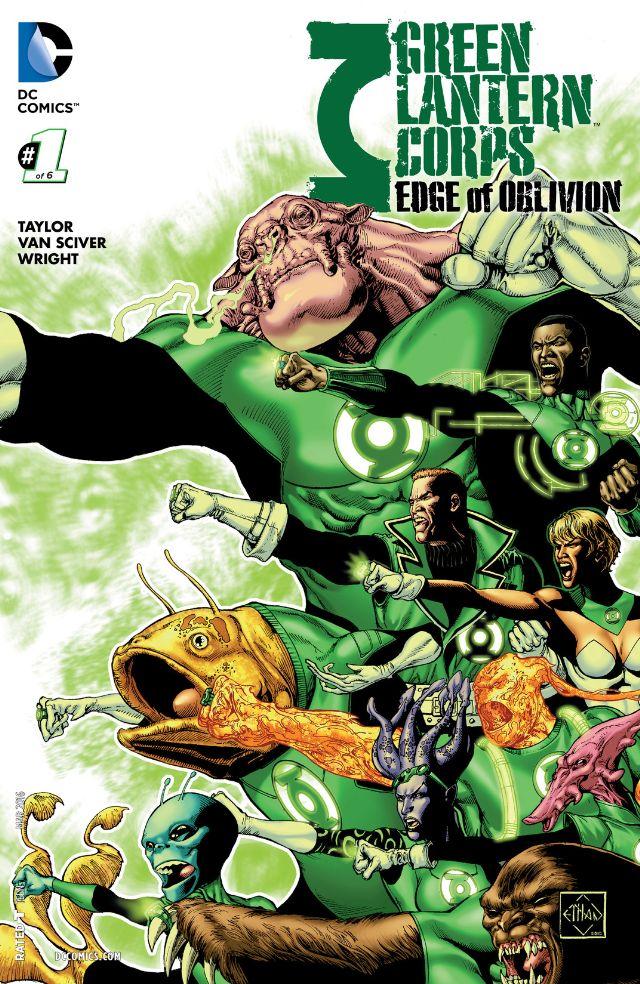civil war green lantern corps edge of oblivion 1 cvr