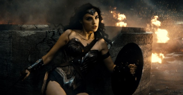 batman v superman review wonder woman