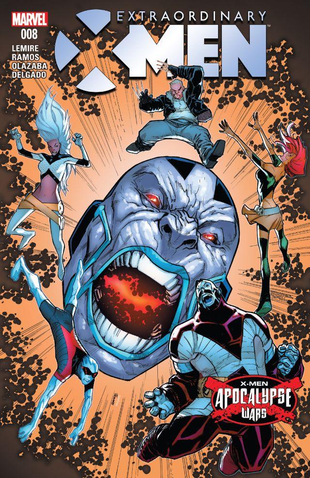 Extraordinary X-Men 8 cvr
