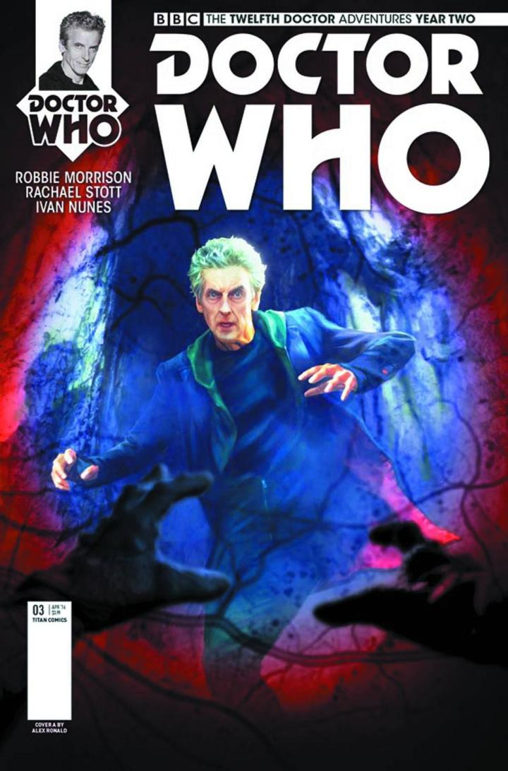 mighty thor doctor who the twelfth doctor year two 3 cvr