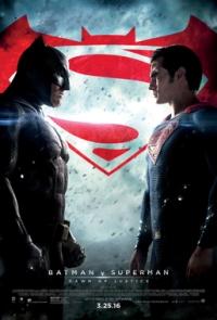batman v superman review poster