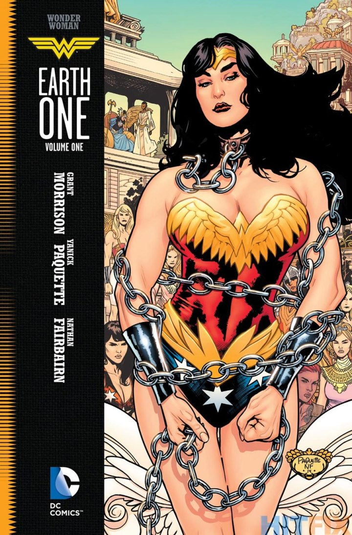 wonder woman earth one hc