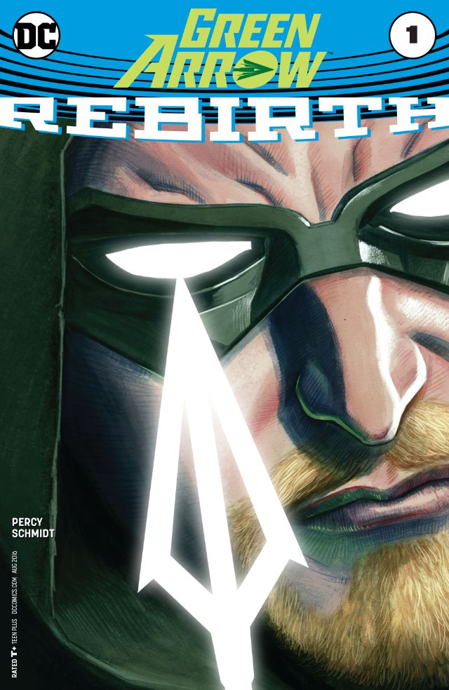 green arrow rebirth 1 cvr