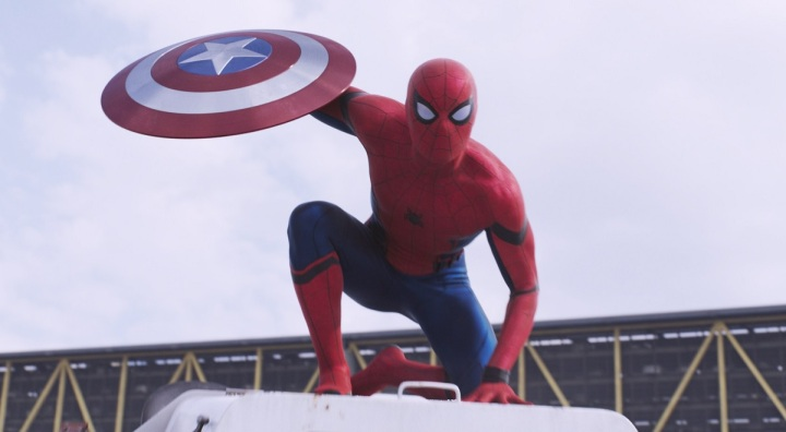 captain america civil war review tom holland spider-man