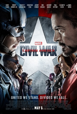 captain america civil war review poster