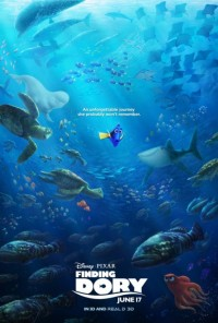 finding dory review poster