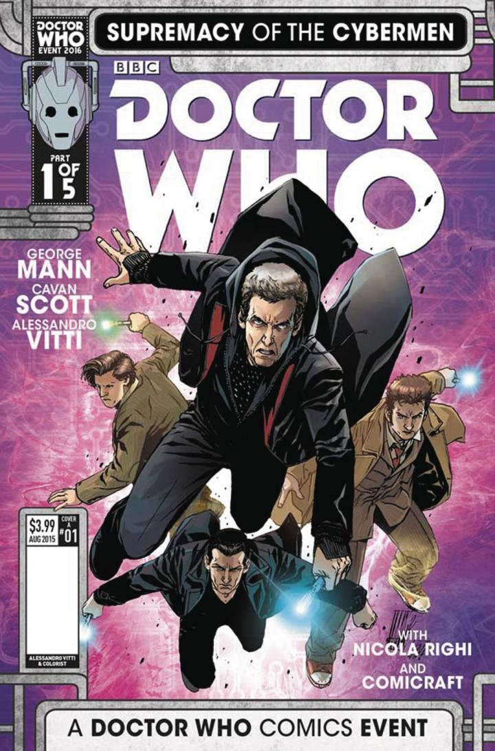 doctor who supremacy of the cyberman 1 cvr