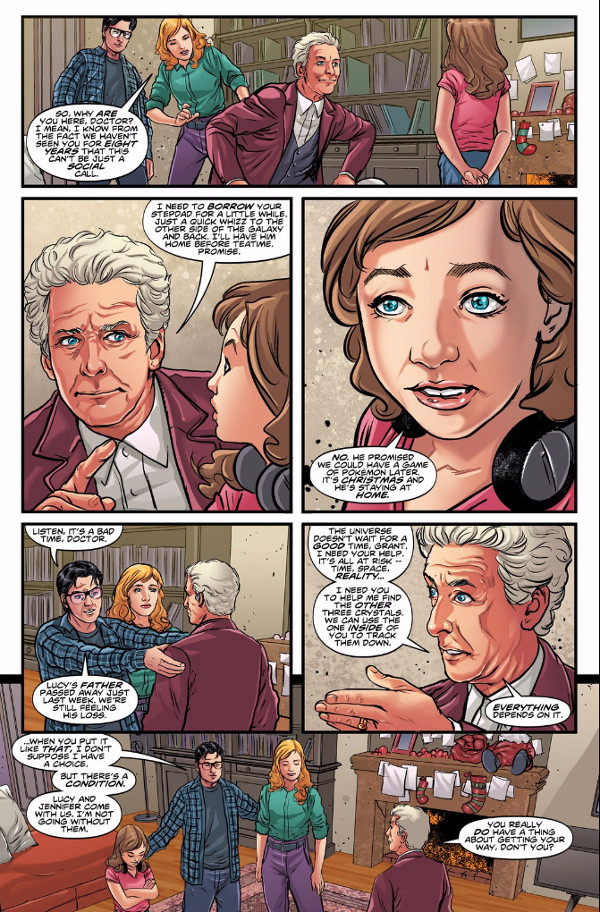 DoctorWhoGhostStories1Page1