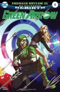 Green Arrow #12 Cover