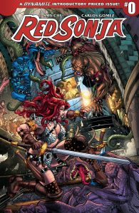 Red Sonja #0 Cover