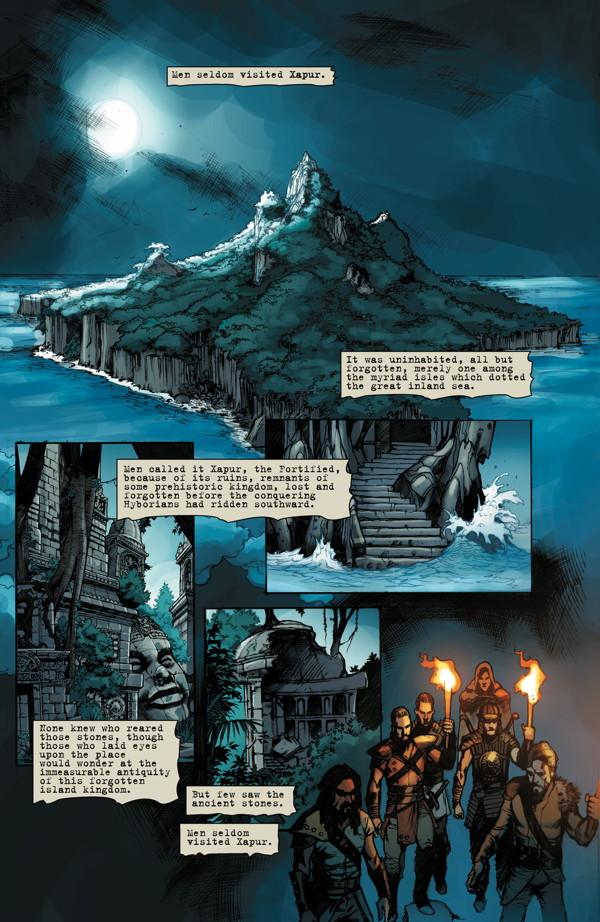 Conan The Slayer #7 Page 1