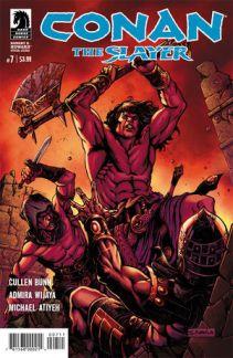 Conan The Slayer #7 Cover