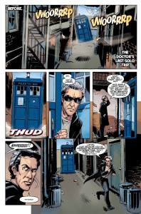 Doctor Who Year Three #2 Page 1
