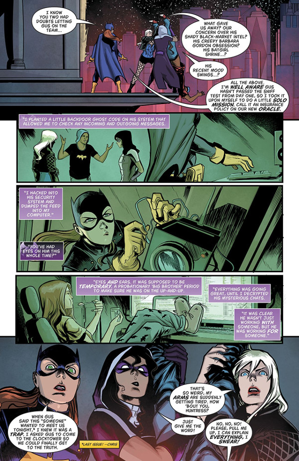 Batgirl And The Birds Of Prey #11 Page One