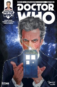 Doctor Who The Twelfth Doctor Year Three #4 Cover