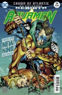 Aquaman #24 Cover
