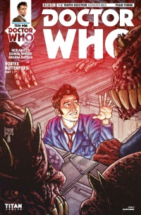 Doctor Who The Tenth Doctor Year Three #6 Cover